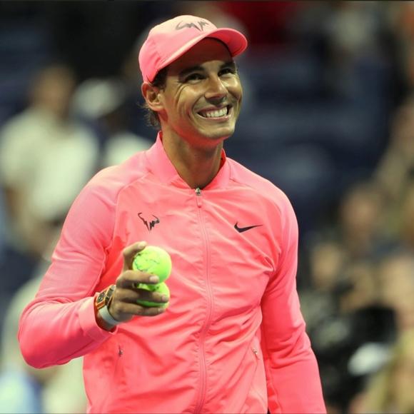 Nike Jackets Coats Court Rafa Nadal Tennis Jacket Hot Punch Poshmark